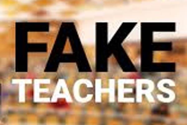 una school practical fake teacher
