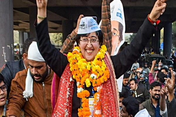 eight out of nine aap women won delhi assembly elections