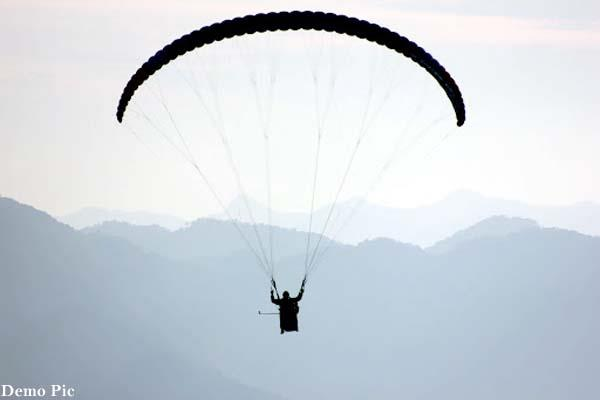 paraglider pilot of sikkim died during training