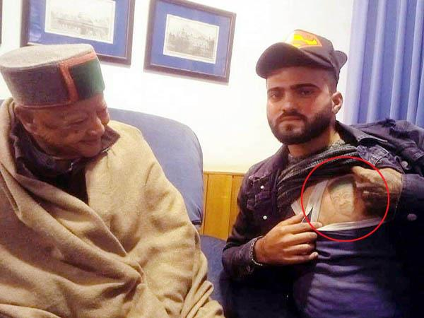 this man considers virbhadra singh as his ideal