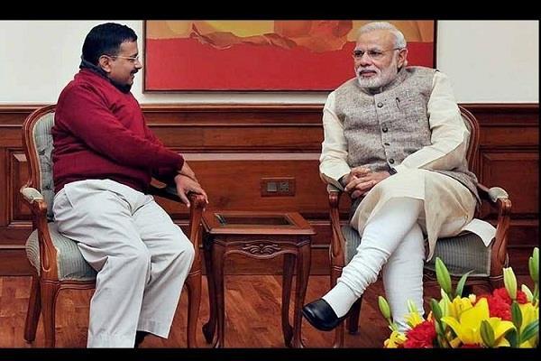 kejriwal said together we will make delhi a world class city