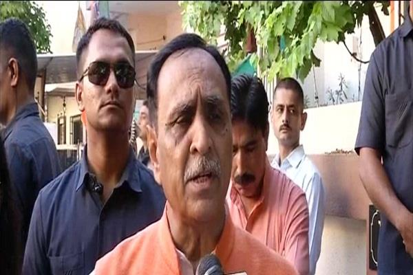 cm rupani dismisses claims of trump spending rs 100 crore on ahmedabad trip