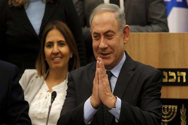 corona s panic netanyahu advises israeli people to say namaste