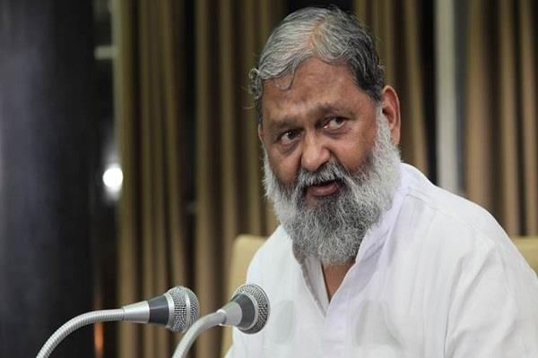 crime against women increases in haryana  home minister anil vij also admitted