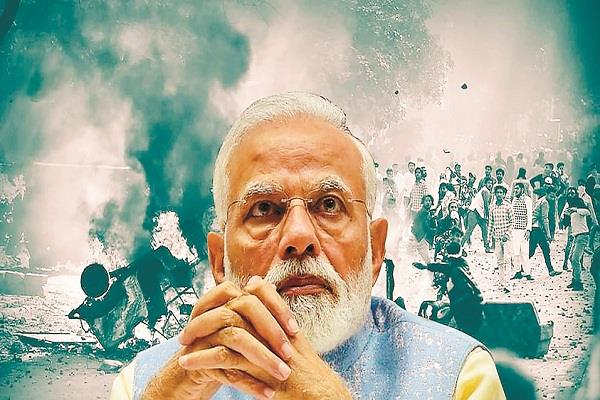 why bjp modi kept watching the massacre of hindus