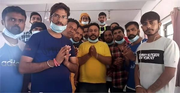 35 young men stranded in malaysia returned to india