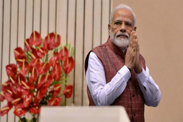 pm modi entrusts his social media account to 7 women