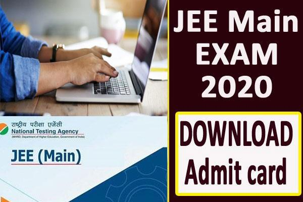 jee main 2020 admit card to be released after march 31 for april
