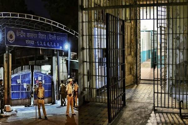 corona virus tihar jail administration released more than 400 prisoners