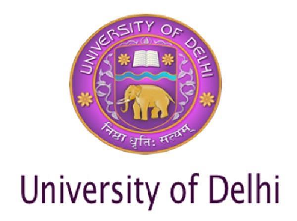 delhi university released the result