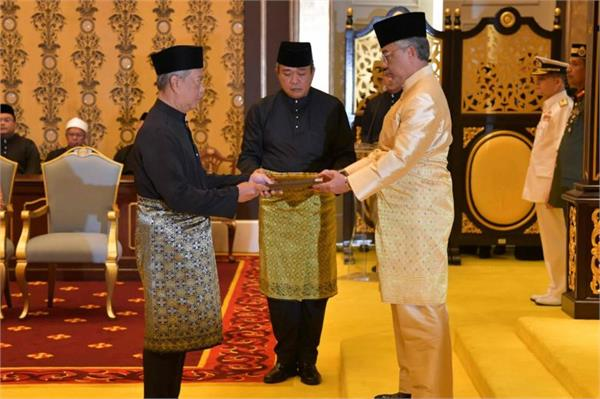 muhyiddin sworn in as malaysia s pm