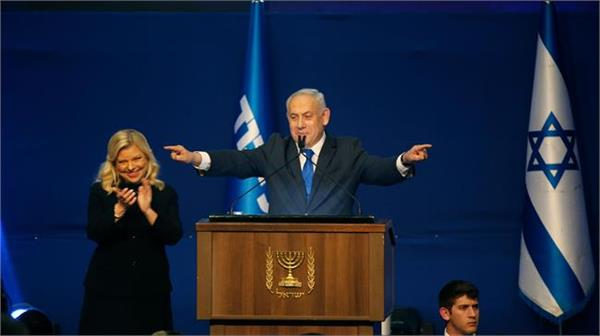 israel election netanyahu claims victory after exit polls show