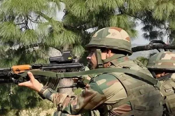 pakistan violates ceasefire in poonch kashmir fired mortar
