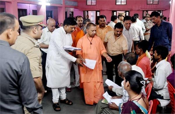 cm yogi arrested for being accused of poxo as he came to the public court