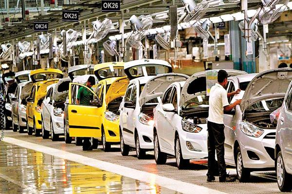 slowdown in auto sector fall in sales of companies