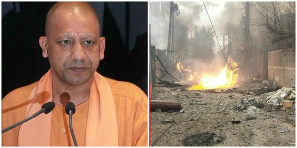 yogi mourns the death of young victims of accident in haryana