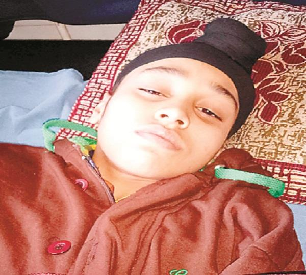 beaten 13 year old boy in khanna
