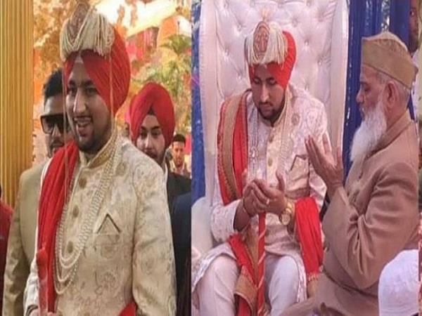 muslim groom wears turban thank sikhs pictures viral on social media