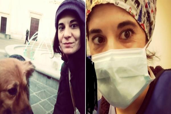 italian nurse suicide after coming to corona test positive