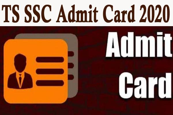 ts ssc 2020 hall tickets released