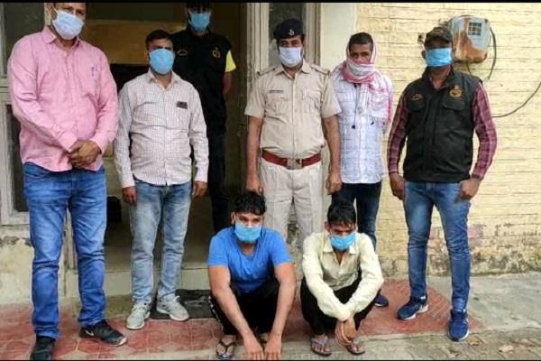 haryana news two vicious miscreants who uprooted atms have been arrested