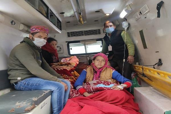 ambulance became a boon for them