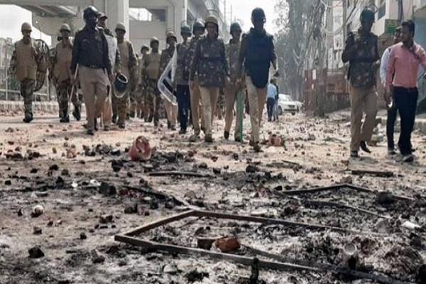 delhi violence stone arun singh