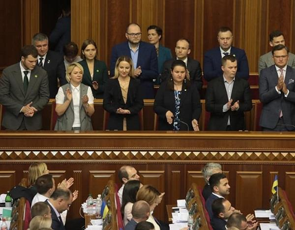 ukrainian parliament approves new composition of cabinet