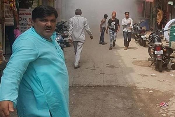 delhi violence police raid the ancestral house