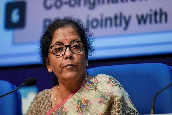 nirmala sitharaman press conference about lockdown
