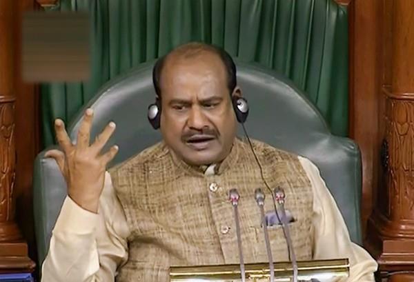 lok sabha speaker om birla warning to mps