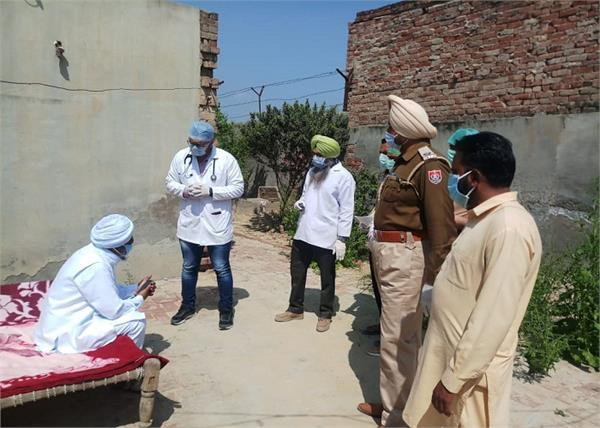 person on leave from central jail bathinda