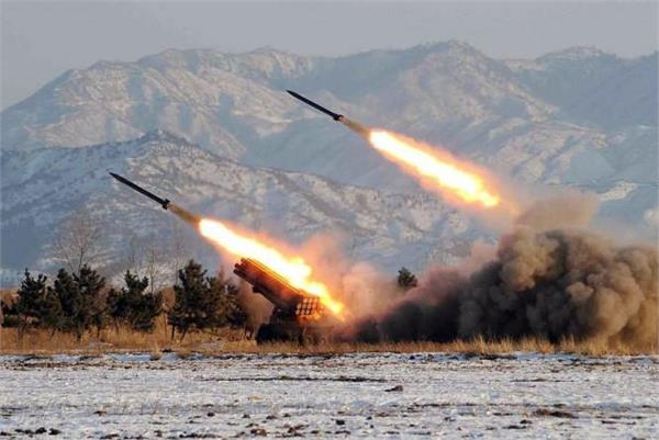 north korea four ballistic missiles fired into sea