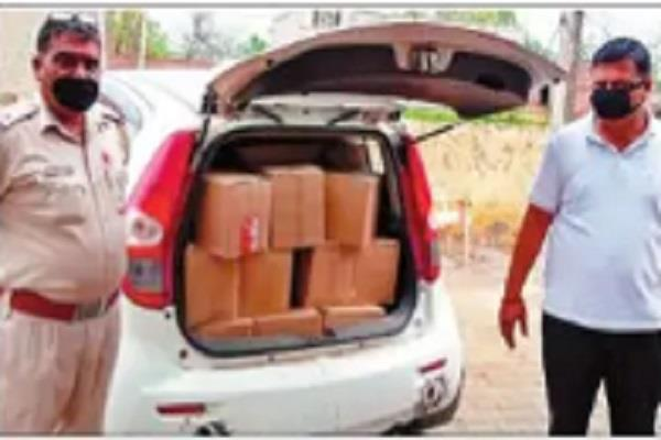 police crackdown 40 smugglers with liquor controlled