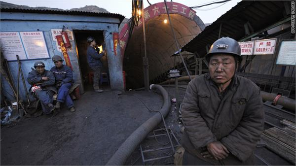 five dead due to collapse of coal mine in china