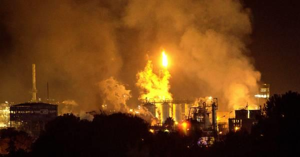 36 injured in lotte chemical plant fire in south korea