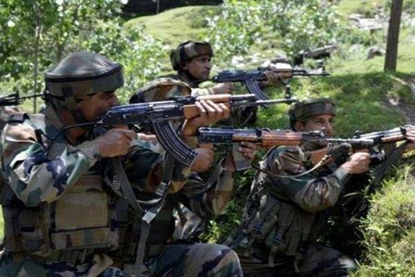 pak shells out areas bordering international border