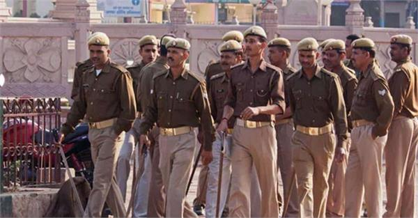 security tightened in aligarh after young man injured in anti caa
