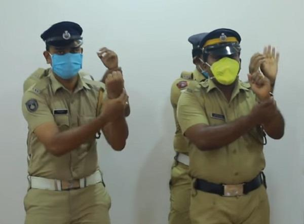 kerala police dancing message on covid19 goes viral