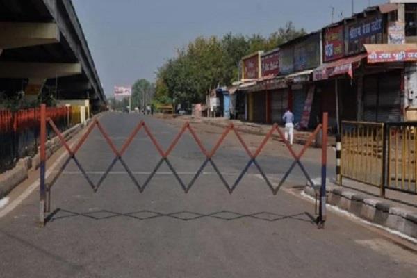 coronavirus lockdown delhi