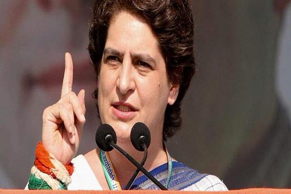 priyanka gandhi vadra taunts bjp anti farmer government