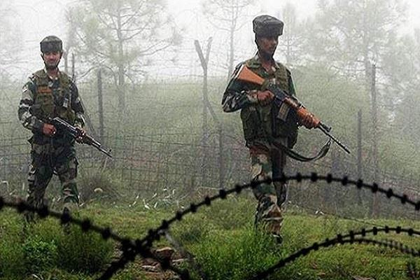 pak violates ceasefire in mankot sector army gives a befitting reply