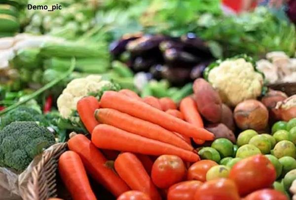 vegetables shops rate list