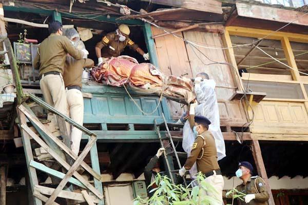 suspected death of elderly man in mandi