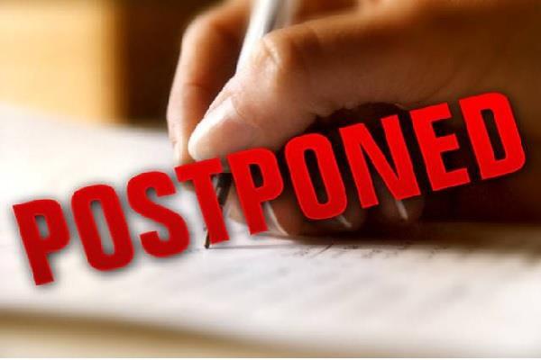 bed entrance exam postponed due to coronavirus