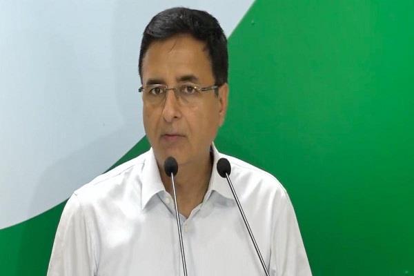 congress narendra modi randeep surjewala bjp