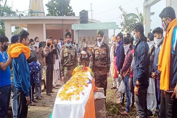 himachal s soldier martyr in manipur