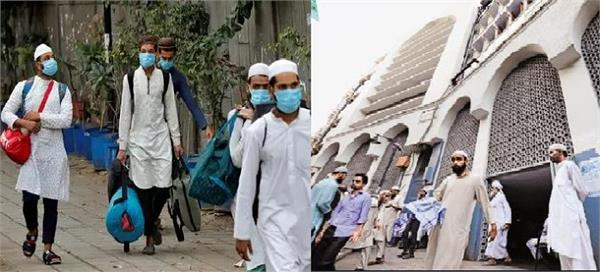 5 kashmiris came to deoband from tabligi jamaat in delhi one has died