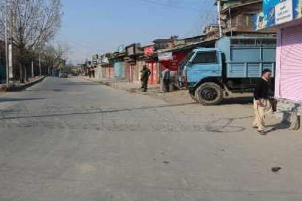 special vigil continues in rajouri amid tight restrictions in jammu