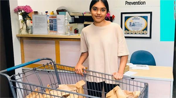 california teen donates corona virus sanitation kits to the homeless